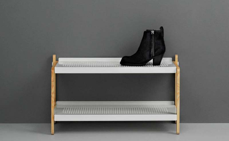 Contemporary shoe cabinet