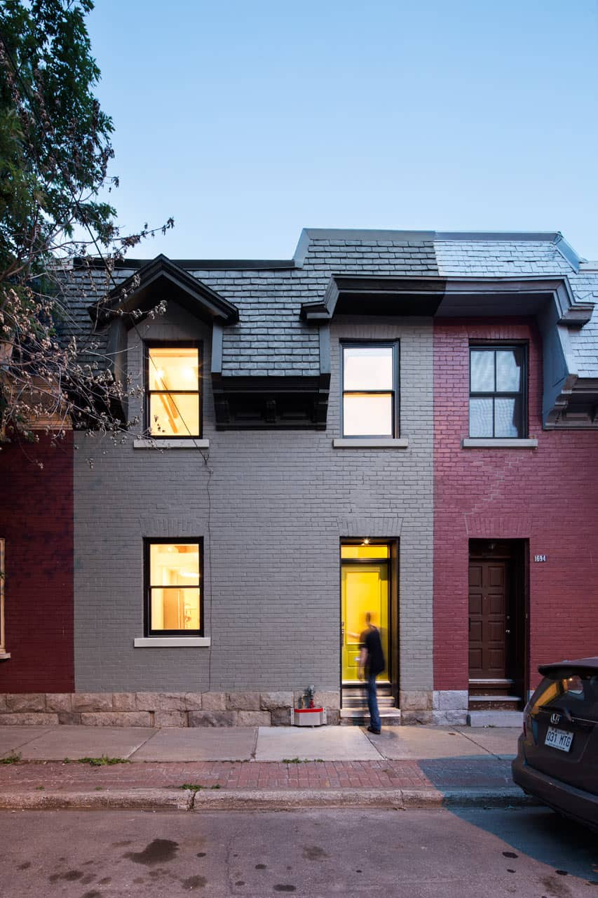 Grand Trunk Row House 21 Historical Buildings With Modern Interiors